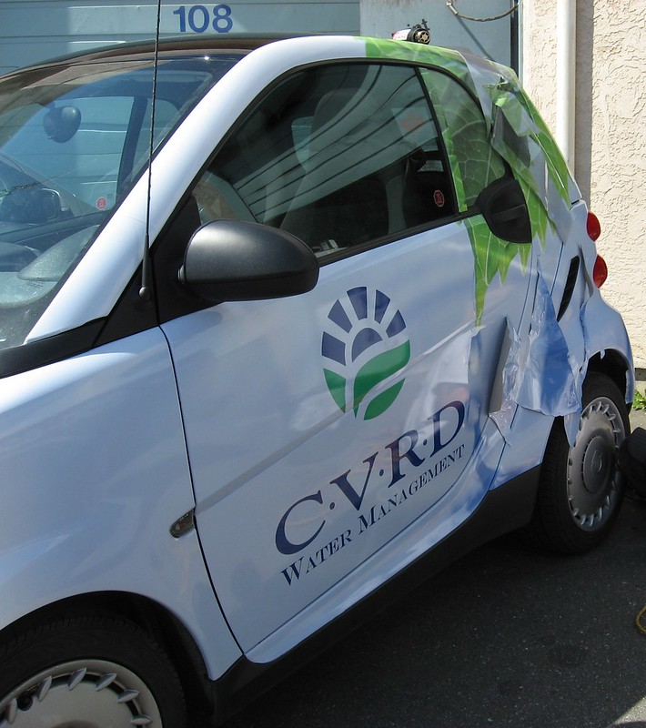 CVRD Smart side vehicle graphics