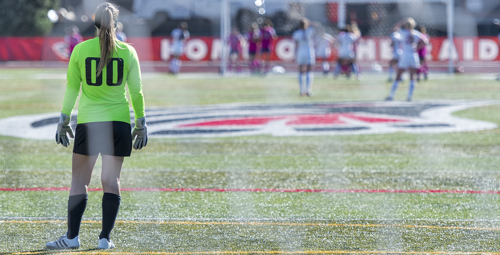 The loneliness of the keeper on a really good soccer team