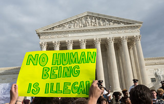 DCPS Walkout, Supreme Court, No Human Being is Illegal | by Lorie Shaull