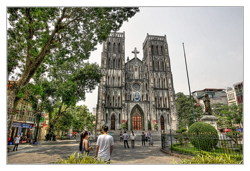 Hanoi VN - St. Joseph's Cathedral | by Daniel Mennerich