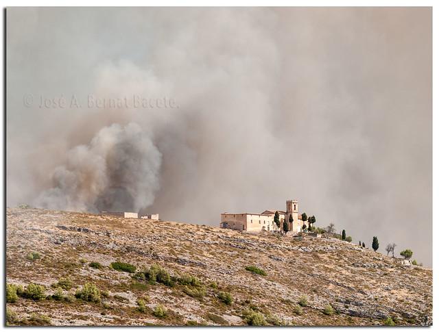 Catástrofes, incendio del 2010