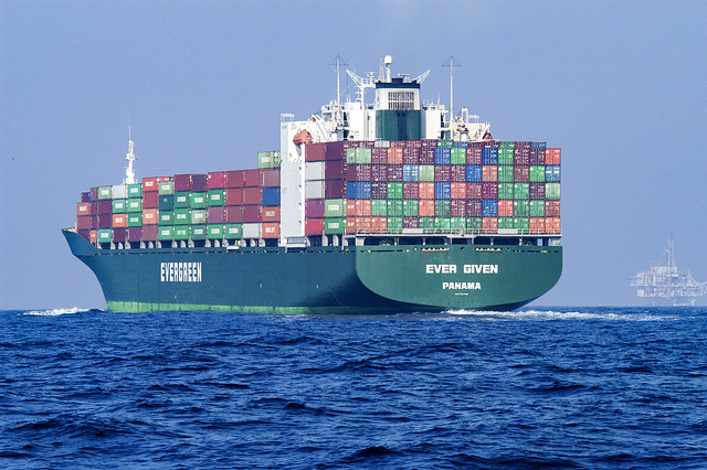 Container ships - Icons of international trade