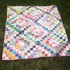 Welcome to the World!!!  (Scrappy Trips Quilt)