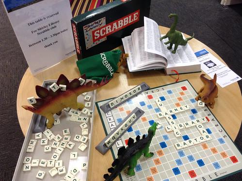 Dino Scrabble