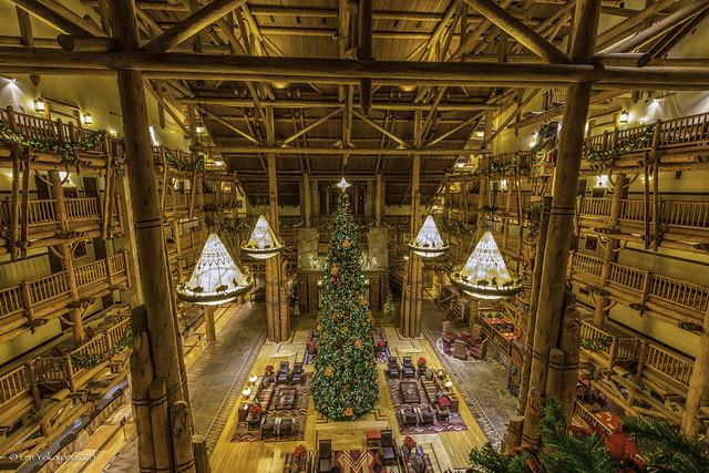 Disney's Wilderness Lodge Lobby 02
