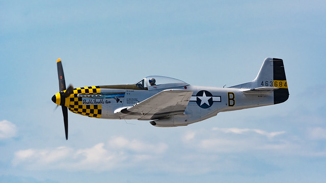 Mustang Flyby