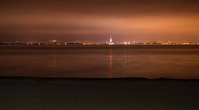 Portsmouth City Skyline