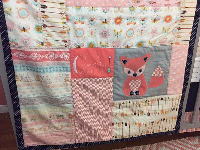 Quilt for Baby Charlie