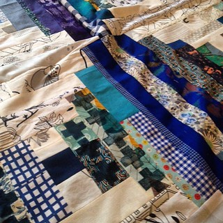 #diy stamps on the blue #courthousesteps #scrap quilt
