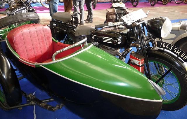 Bourse Expo Woincourt Terrot 500 RGAS 1947