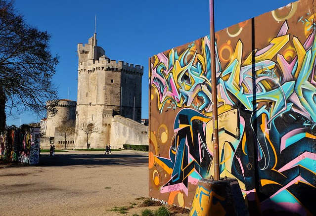 Graffiti Le Gabut, La Rochelle