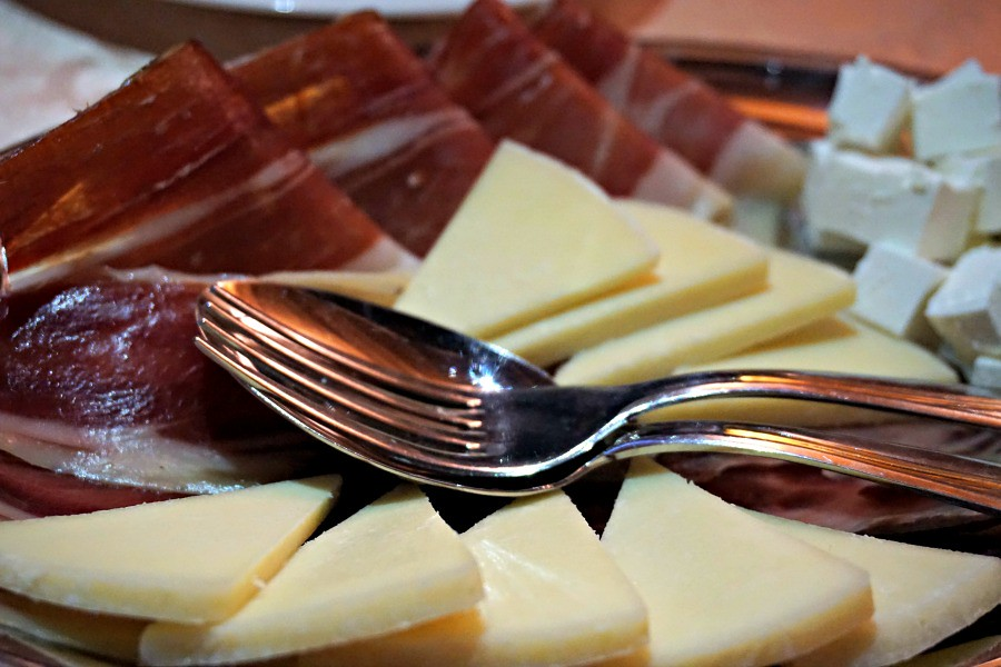 Local Croatian Cheese and Smoked Dalmation Proscuitto