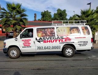 Las Vegas Shuttles >> Las Vegas Shuttles Ford Van In San Ysidro Ca So Cal