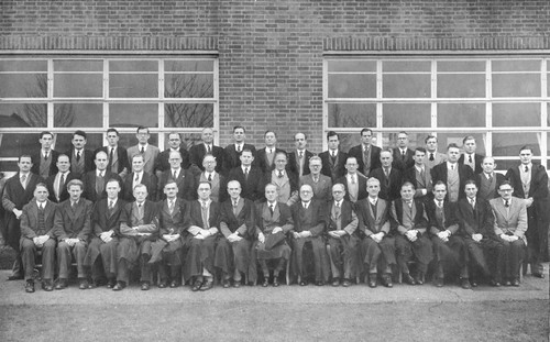 Staff Photo 1951, Bournemouth School, East Way, Bournemouth, Dorset | by Ian Westhead