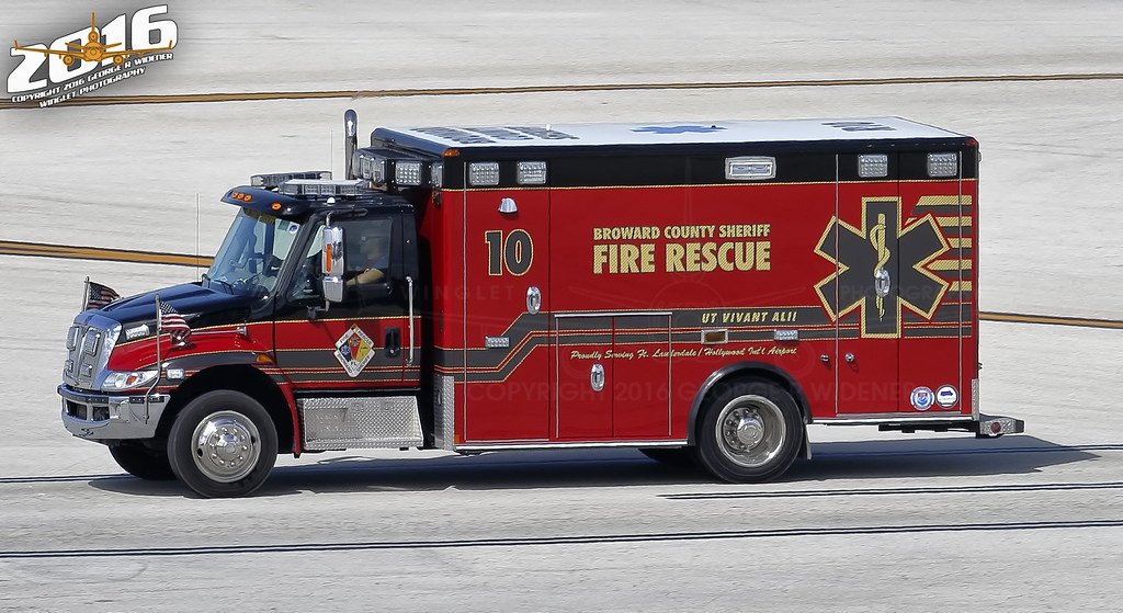Broward County Sheriff / Fire Rescue 10 KFLL | Seen at Ft  L