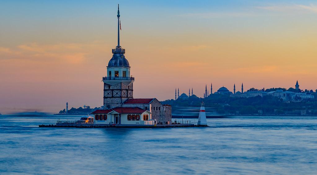 Kiz Kulesi - Sunset