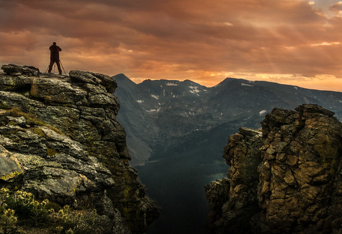 rmnp rocky mountain national park sunset rock cut colorado
