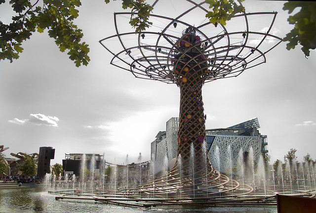 Expo 2015- L'albero della vita ed il padiglione Italia
