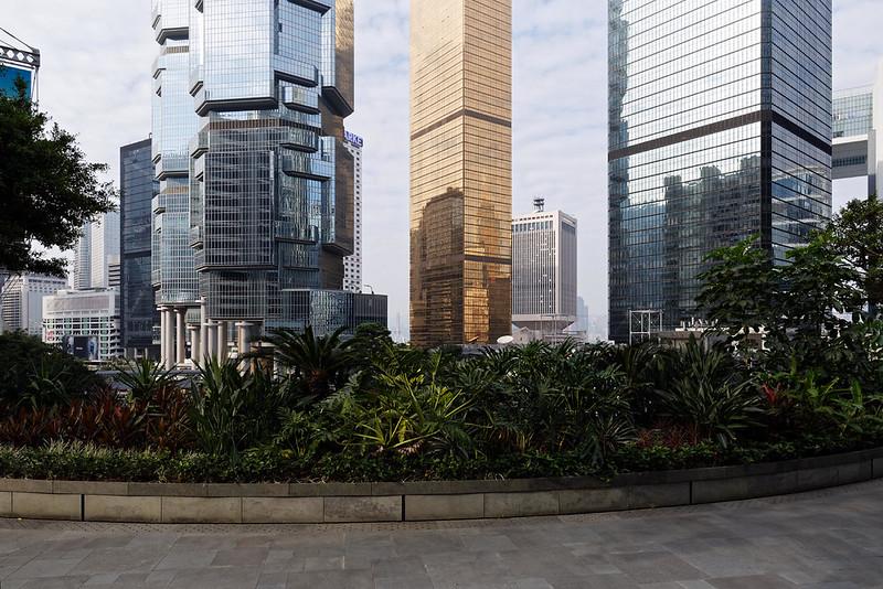 Hong Kong - Central near Hong Kong Park