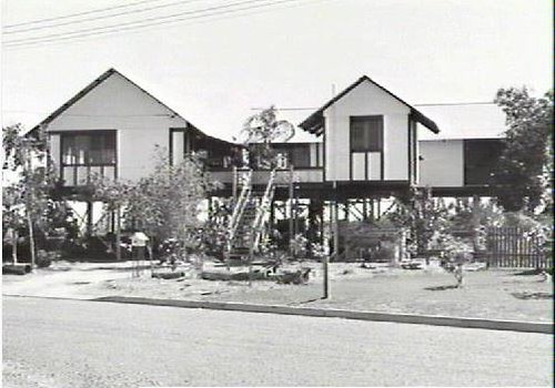 Lawler House at end of Osterman St, in 1985