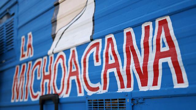 La Michoacana Taco Truck in Ames, Iowa