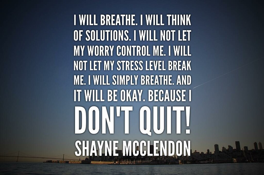 Image result for i will breathe i will think of solutions