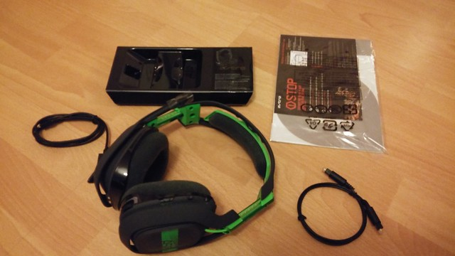 Astro Gaming A50 Lieferumfang