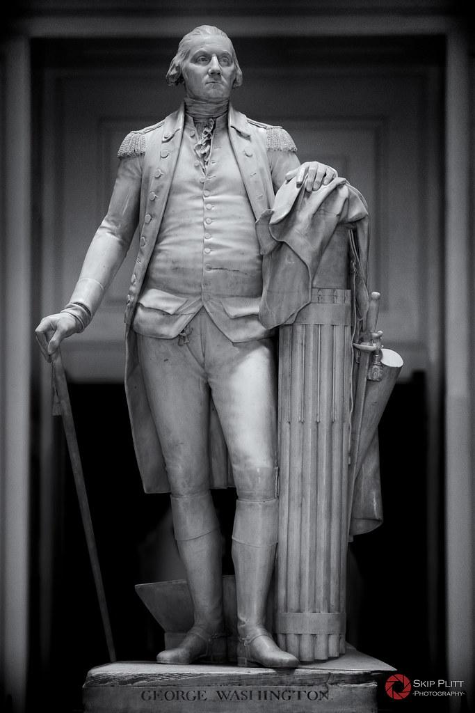 George Washington Houdon In 1784 The Virginia General
