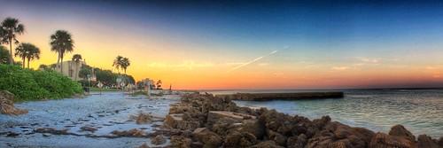 2015 app iphoneedit snapseed handyphoto sunrise light sky geotag geotagged canon eos dslr 500d rebel hdr pano panorama florida beach t1i skies sun landscape jamiesmed october photography autostitch sarasota ocean