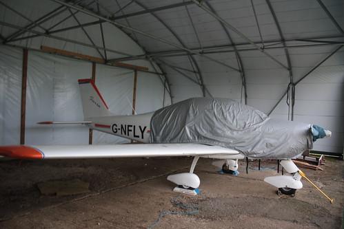G-NFLY Tecnam P.2002-EA Sierra [PFA 333-14613] Hinton in the Hedges 161015