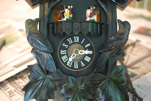 Cuckoo Clock Getting Put Back Together | by A Storybook Life