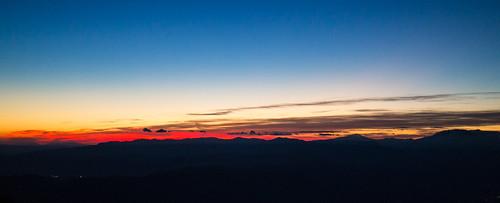 california panorama sunrise hiking backpacking cucamongapeak socalhiker sixpackofpeaks