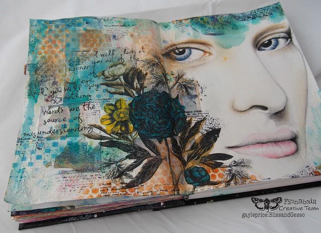 Misunderstood: Art Journal page