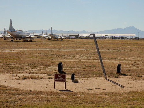 Pima Air-Space museum - Boneyard - stealth