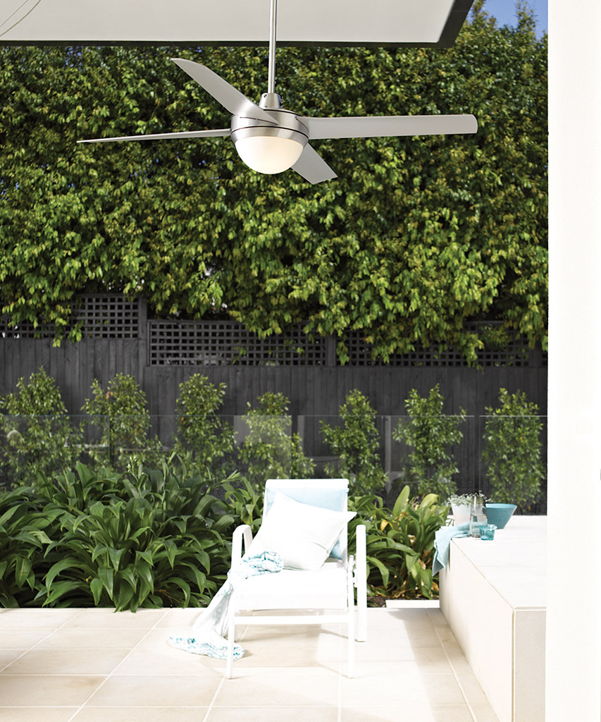 Fans 2015 Altitude Eco 132cm Outdoor Fan and Light in Brus