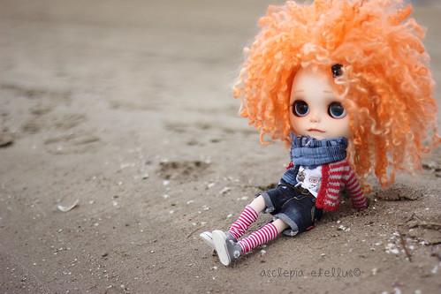 Yuffie disfrutando del olor a mar