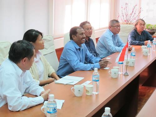 圖02.新加坡CIEU化學工會聯合會來訪成員