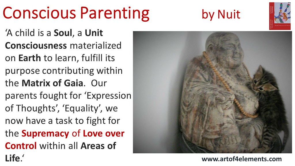 Conscious Parenting Quote by Nataša Pantović A child is a soul unit consciousness