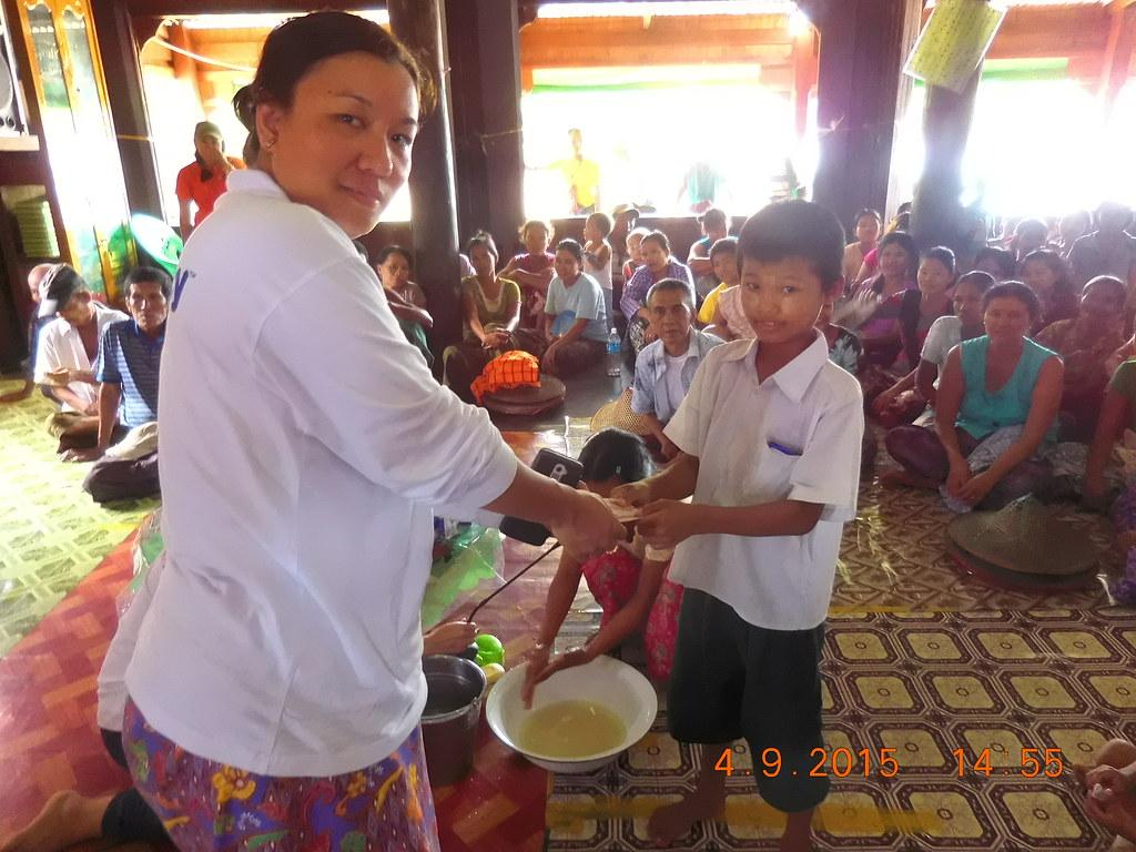 MERCY Malaysia's Myanmar Flood Relief 2015