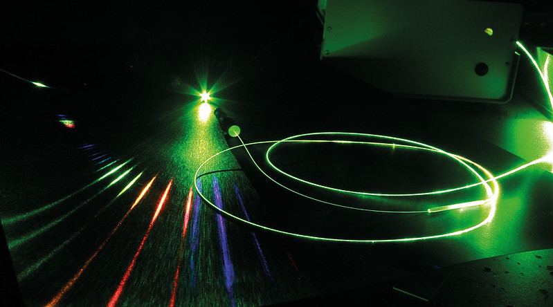 Photonic microcell lasers