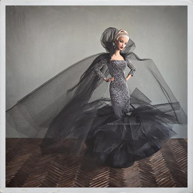 Outfit exclusivo de la Convención Nacional de Coleccionistas de Barbie en España, diseñado por Victoria Designs.