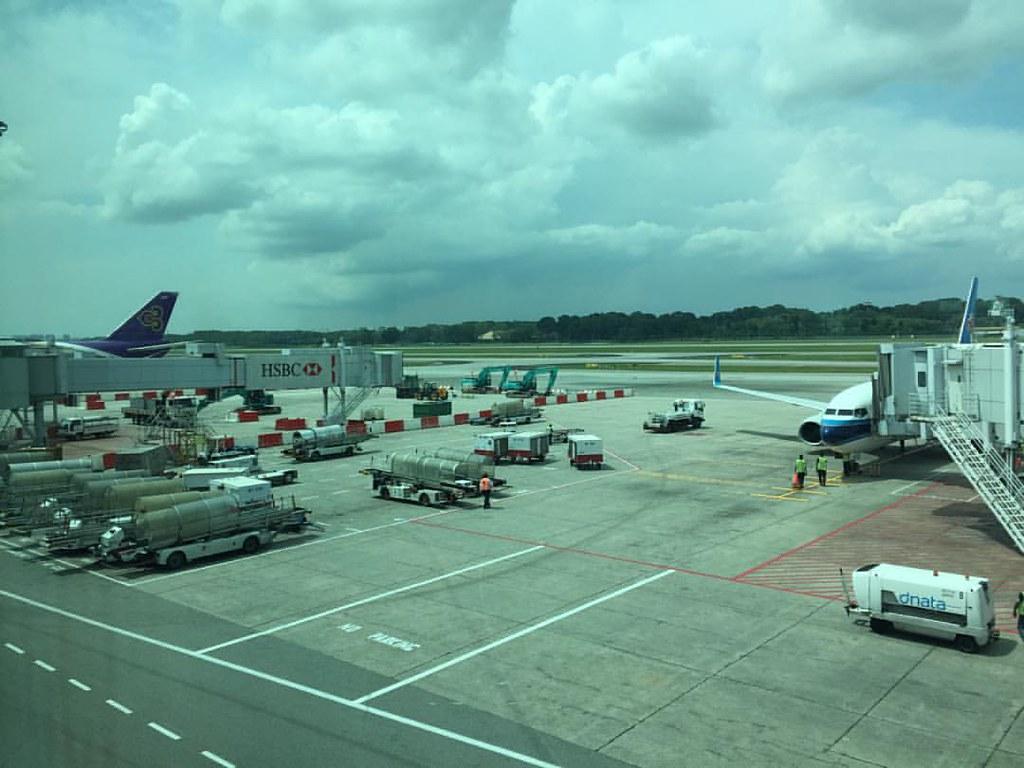 Kobelco SK200-8 Super X Excavators in Singapore Changi Air
