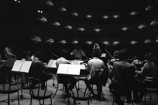 1982 - Prove d'orchestra CIMA dir. Sergio Siminovich (Teatro G. B. Pergolesi - Festival Pergolesi . Jesi)