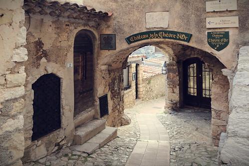 medievalvillageofezeprovencefrance france eze architecture