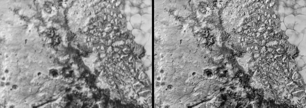 Pluto S Chaos Region 3d Parallel Stereo Pair Parallel St Flickr