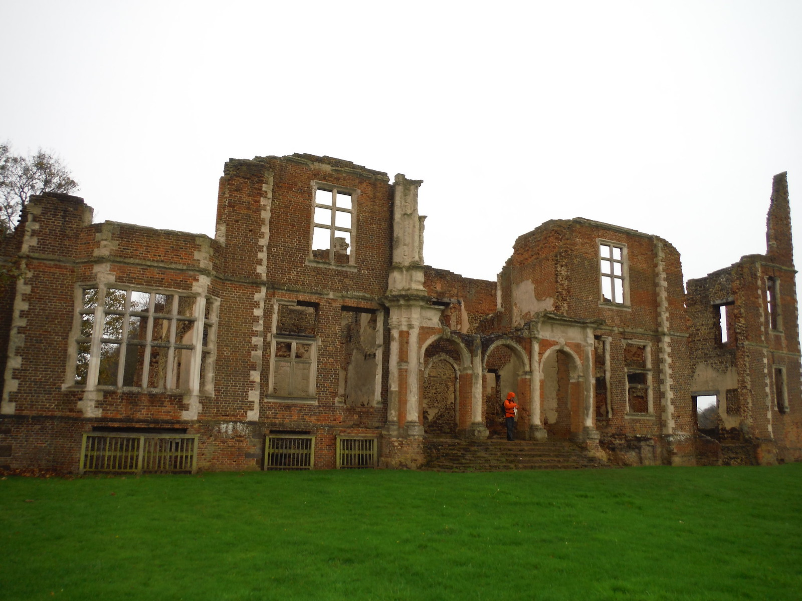 Houghton House, rear view SWC Walk 232 Lidlington to Flitwick