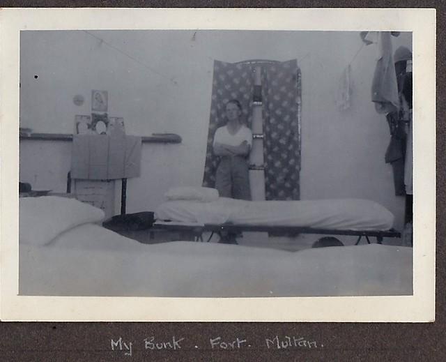 My Bunk Fort Multan 1930's