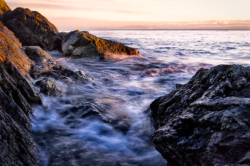 longexposure sunset rocks bc britishcolumbia victoria