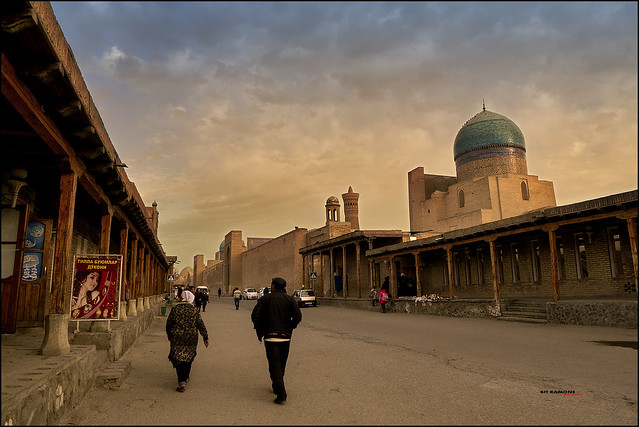 Old street in Bukhara