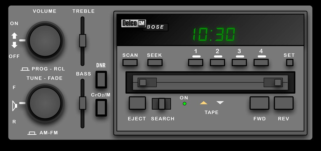 Bose Car Stereo >> Bose Car Stereo From 1985 Mix Tape For The Bose Create